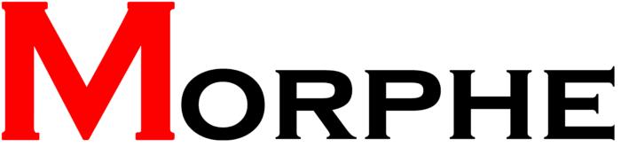 Morphe logo, white bg
