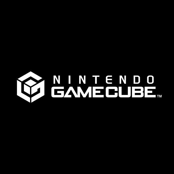 Nintendo Gamecube logo black