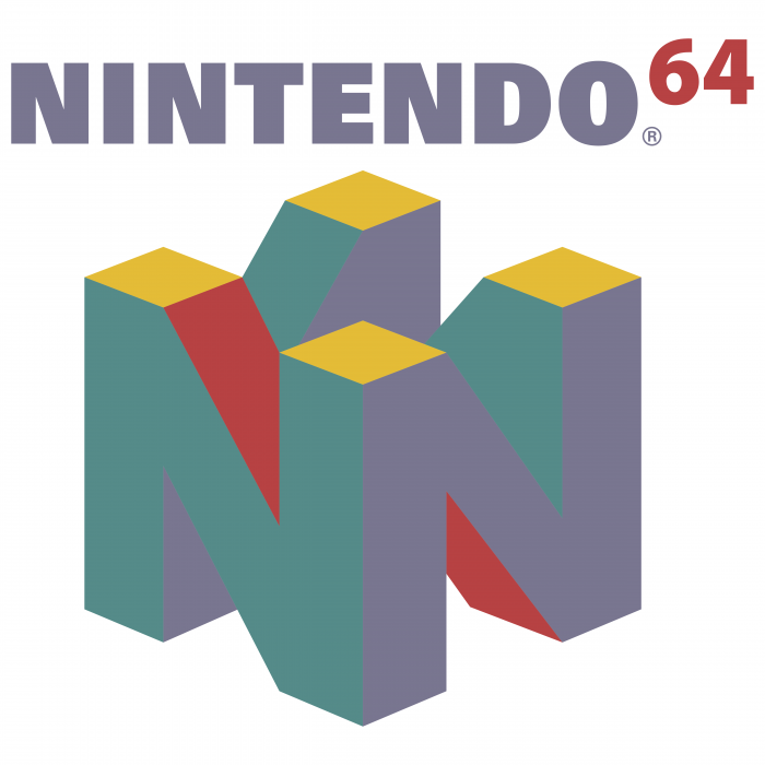 Nintendo logo 64 colour