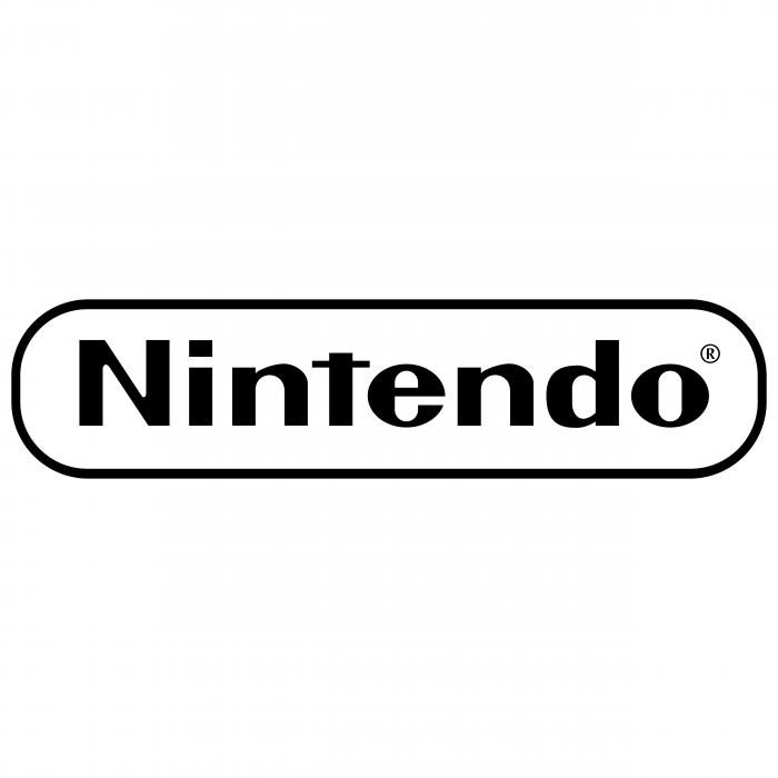 Nintendo logo black r