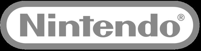 Nintendo logo, gray