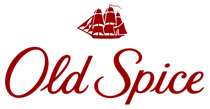 OldSpice logo, white backgroung (Old Spice)