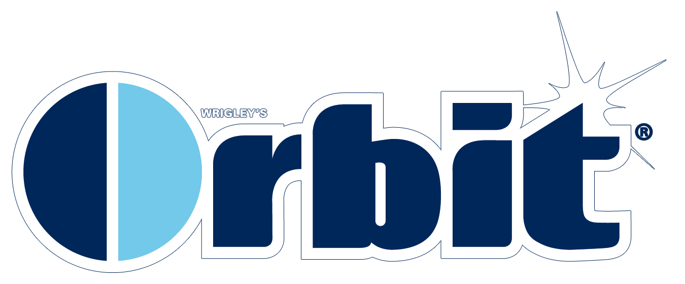 orbit logos download rh logos download com Orbit Gum Packaging orbit gum logo font