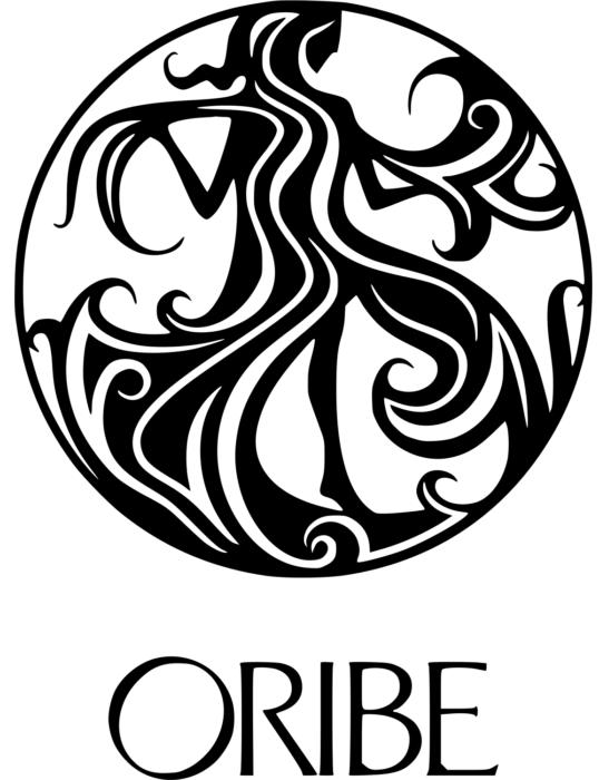 Oribe logo, white bg