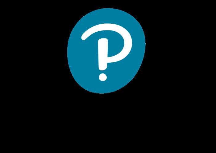 Pearson logo, logotype, emblem, symbol, vertical