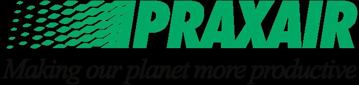 Praxair logo, slogan