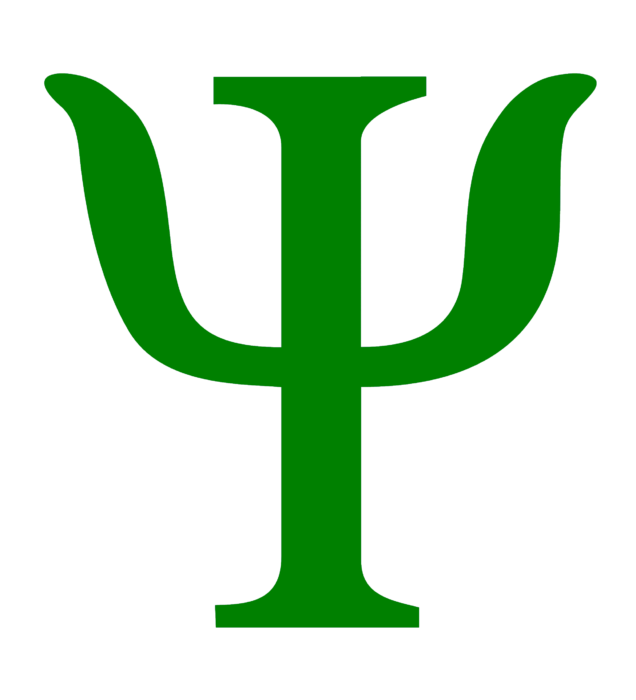 Psychology logo, green