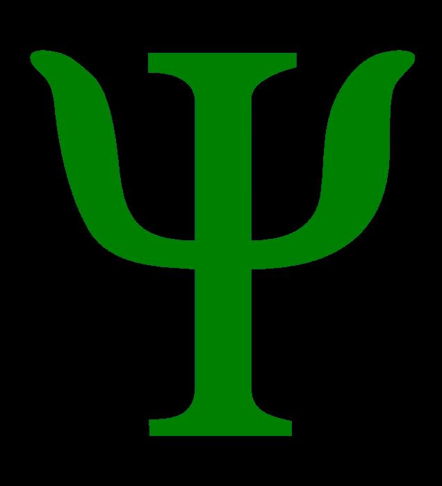 Psychology logo, green
