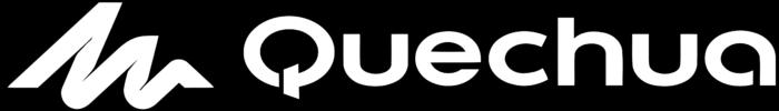 Quechua logo, black background