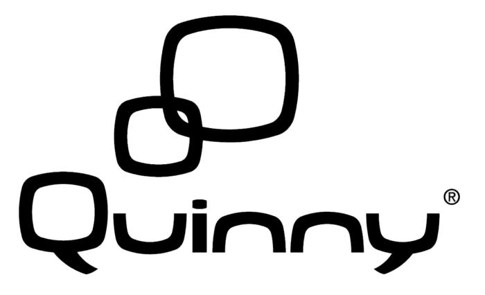 Quinny logo, black