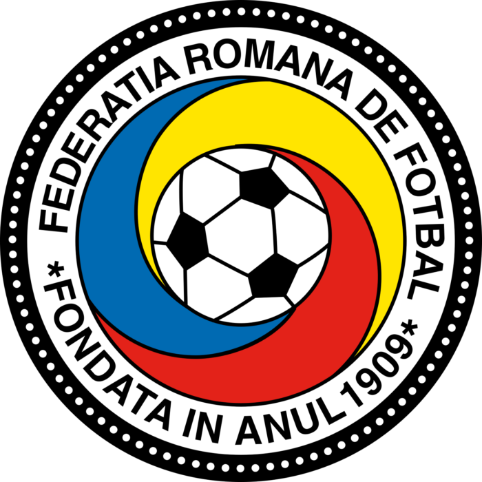 Romania national football team logo, crest (Federatia Romana De Fotbal)