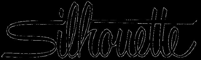 Silhouette logo, logotype