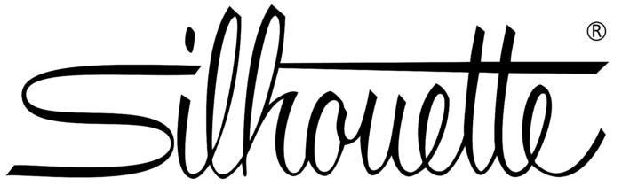 Silhouette logo, white bg