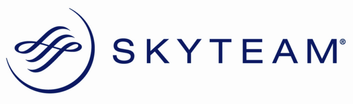 Skyteam logo, horizontal