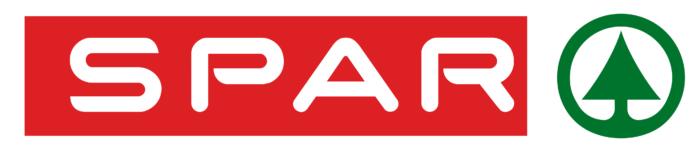 Spar logo, white background