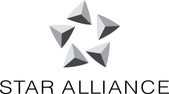 Star Alliance logo, vertical