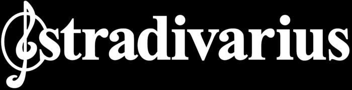 Stradivarius logo, black