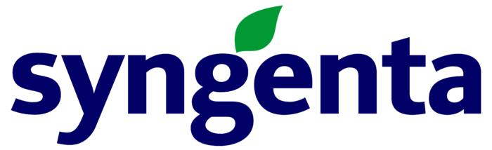 Syngenta logo, white background