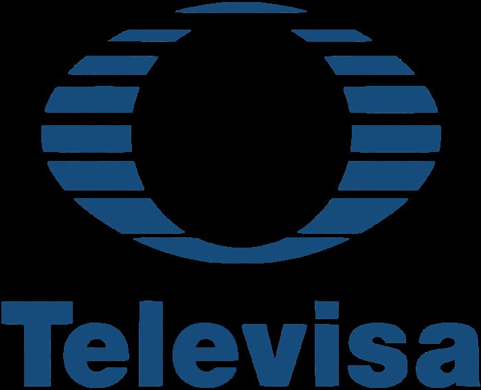 Televisa logo, logotipo, blue