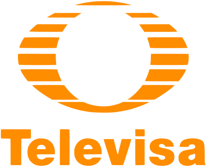 Televisa logo, orange-yellow