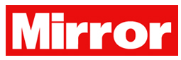 The Daily Mirror logo, wordmark