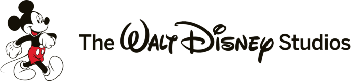 The Walt Disney Studios logo, horizontal