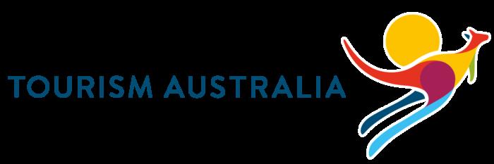 Tourism Australia logo, wordmark, horizontal