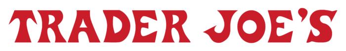 Trader Joe's logo, white bg