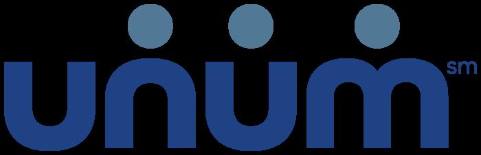 Unum logo, blue