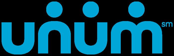 Unum logo, light blue