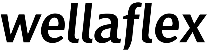 Wellaflex logo, black
