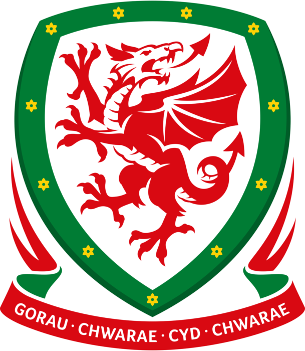 Welsh national football team logo, crest