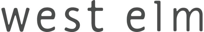 West Elm logo, white background