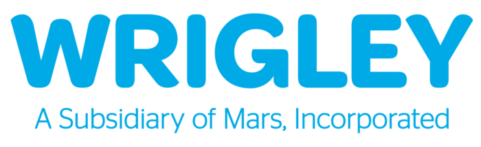 Wrigley logo, slogan