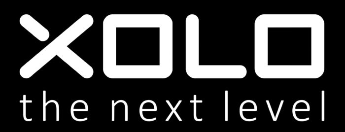 XOLO logo, black