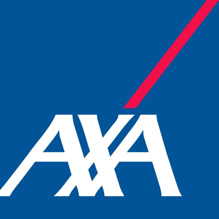 AXA logo, logotype