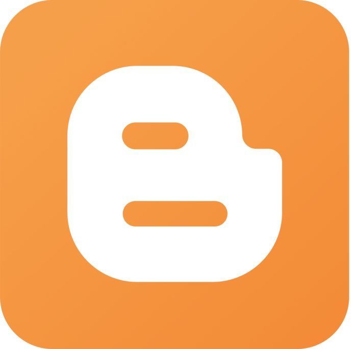 Blogger B logo, icon