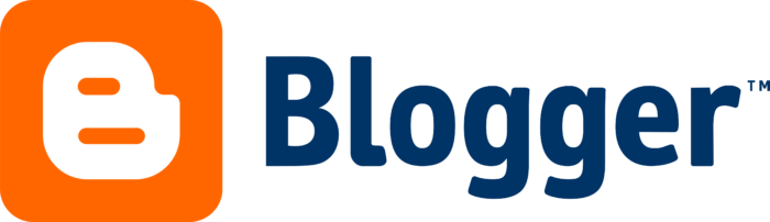 Blogger logo, wordmark