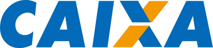 Caixa Econômica Federal logo, white background