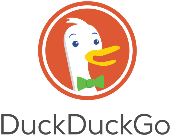 DuckDuckGo logo (Duck Duck Go)