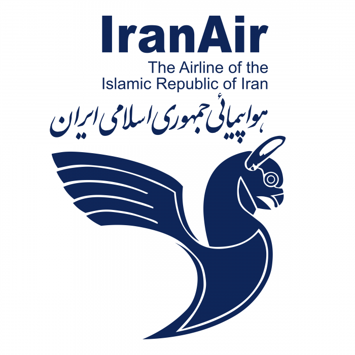 Iran Air logo blue