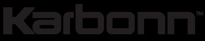 Karbonn logo, black