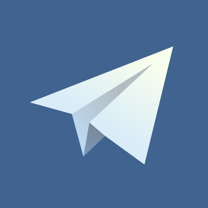 Old Telegram 1.x version (2013) Logo