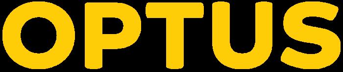 Optus logo, wellow