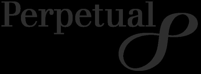 Perpetual logo, black