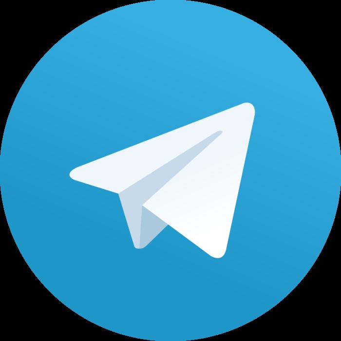 Telegram 2.x version (2014) Logo
