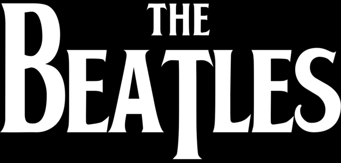 The Beatles logo, black