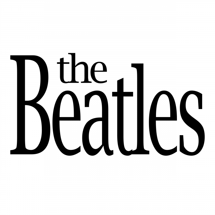 The Beatles logo brand