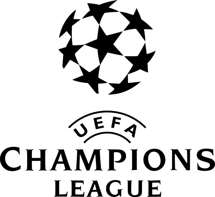 UEFA Champions League Logo 1995