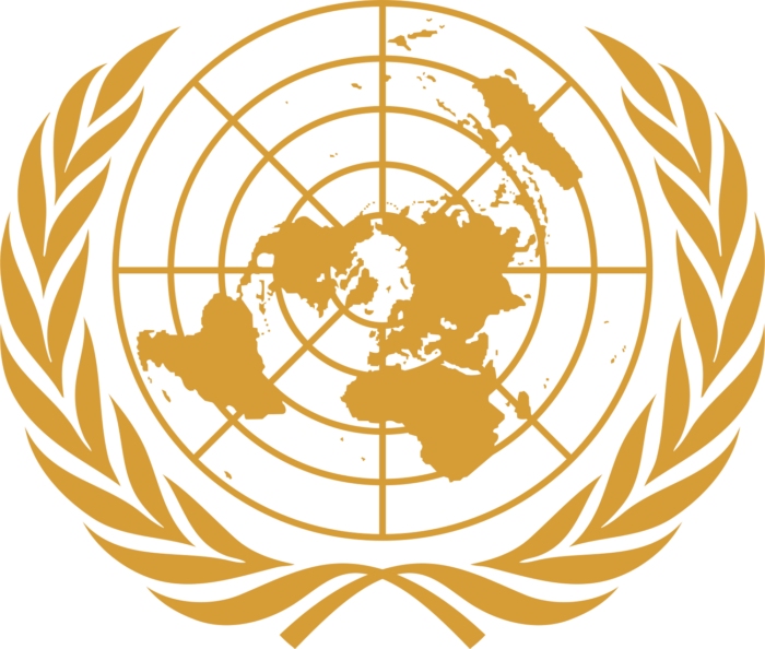 United Nations logo, logotype, emblem